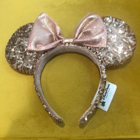 Disney Parks Minnie Mouse Rose Gold Ears